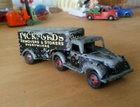 Vintage Timpo Toy Pickford Truck Trailer RARE Good Condition Complete with Tyres
