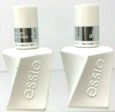 Lot of (2) Essie Gel Couture Nail Polish .46 oz #00 TOP COAT New Full Sized