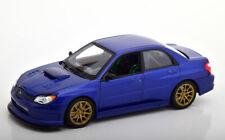 1:24 Welly Subaru Impreza WRX STI blue