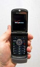 Motorola Razr V3m V3 VERIZON Cell Phone Razor Silver razer flip camera bluetooth