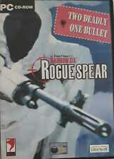 Tom Clancy's Rainbow seis Rogue Spear PC CD-Rom Juegos (dos mortales, una bala)