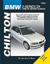 BMW 3-Series & Z4 Chilton Repair Manual (1999-2005)