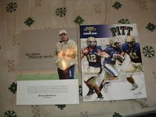 GARDNER-WEBB @ PITTSBURGH PITT PANTHERS FOOTBALL GAME PROGRAM 9/22/2012