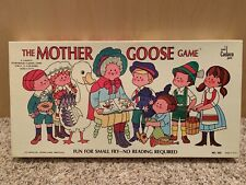 The Mother Goose Game board game vintage 1971 Cadaco EXCELLENT