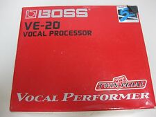 BOSS VE-20 Vocal Performer Processor Vocal Guitar Effects Pedal Free Shipping