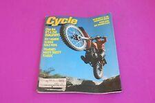 March 1977 Cycle Magazine. Honda GL1000 Yamaha XS650C. Shows wear. See pic