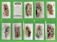 Tobacco Cigarette cards set Dogs 1925 Artistic Scenic Beagles,Greyhound,Terrier,