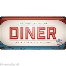 Diner Blechschild 25 x 50 cm Nostalgic-Art Retro - American Diner USA