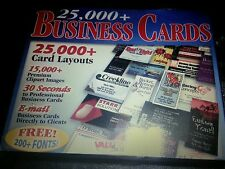 25000 Business Card CD-Rom