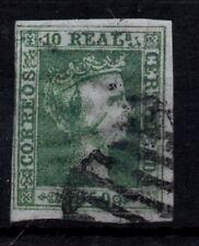 Edifil 5 usado, 10 reales, 1850. Isabel II. España, Spain