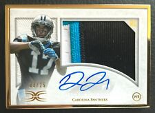 #/25 Devin Funchess 2015 Topps Definitive Collection Framed Auto patch RC