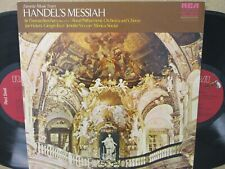 CRL2-0192- HANDEL MESSIAH Favourites 2-LP BEECHAM/VICKERS/TOZZI ETC