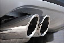 REAR Exhaust Muffler 2PCS For  Skoda Octavia 2014 2015