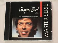 JACQUES BREL - CD - MASTER SERIE VOL.2
