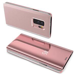 Samsung Galaxy S7 Edge Smart Case Handytasche Smart View Standing Cover in Rose