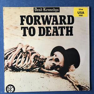 Dead Kennedys - forward to death - Vinyl - Live