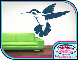 Colibri A Animal Mylar 190 Pochoir Réutilisable Spray Peinture Mur Art Usé Chic