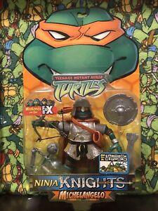 Teenage Mutant Ninja Turtles 🐢 TMNT Ninja Knight Michelangelo Figure MOC 2003