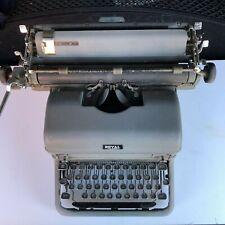 Antique 1930s Royal Touch Control  Typewriter Magic Margin *Missing Z key*