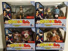 Dragon Ball set of 4 Goku/Boss Rabbit, Emperor Pilaf/Shu, Bulma, Master Roshi