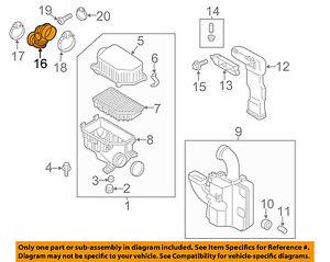 HYUNDAI OEM 12-16 Veloster Air Cleaner Intake-Intake Duct Tube Hose 281383X000