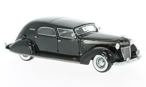 CHRYSLER IMPERIAL C 15 LE BARON CITY CAR 1937 BLACK 1:43 MODELLINO AUTO D'EPOCA