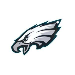 "Philadelphia Eagles Laser Cut Logo Steel Magnet Authentic Street Signs 4"" MadUSA"