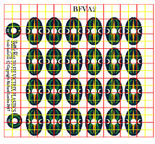 Shield Decals for Victrix Early Imperial Roman Auxiliary Infantry (AUX2)