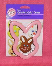 Bunny Head Comfort-Grip Cookie Cutter, Wilton,Metal,Easter, 2310-626,