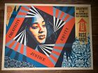 Shepard Fairey Obey Giant Creativity, Equity, Justice Art Print X/450 Providence