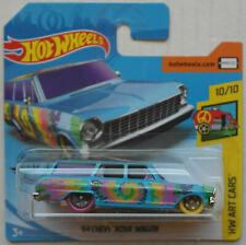 Hot Wheels 1964 Chevy Chevrolet Nova Station Wagon blau HW Art Cars Neu/OVP ´64