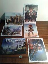 PlayStation 4 ps4 horizonte cero amanecer Edición Limitada Tarjetas de correos de arte de gran tamaño