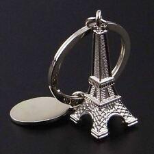 Fashion Tower Keychain Metal Keyring Charm Pendant Gift Purse Bag Key Ring Chain
