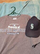 Seattle Mariners Shirt Hat Combo