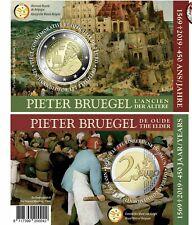 Belgie 2019 2€ Pieter Bruegel Coin Card **FR** Direct Beschikbaar**