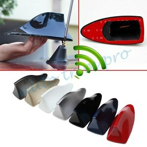 Car Parts Exterior Roof AM/FM Radio Shark Fin Style Antenna Aerial Signal Decor