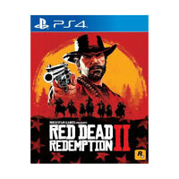Red Dead Redemption 2 PlayStation PS4 2018 Chinese English Pre-Owned