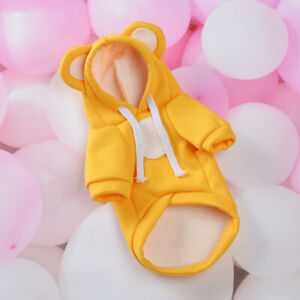 Pet Dog Clothes Cat Puppy Coat Winter Spring Hooded Warm Sweater Jacket Clothing