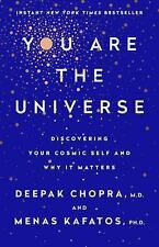 YOU ARE THE UNIVERSE: Discovering Your by Deepak Chopra [Hardcover] BRAND NEW