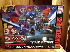 Transformers Titans Return Chaos On Velocitron Set MISB
