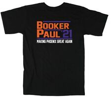 Devin Booker Chris Paul CP3 Phoenix Suns 21 T-Shirt Short Sleeve and Long Sleeve