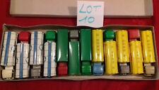 SESAME.Boite rare de 12 camions BERLIET,MERCEDES,BERNARD..etc.m.in fr.(lot n°10)