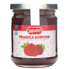 Offidius - EXTRA Jam from Strawberry Sabrosa - 2x220 gr - Made in Italy