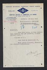 """COGNAC (16) COMPTOIR AGRICOLE & COMMERCIAL / QUINCAILLERIE """"C.A.C."""" en 1950"""