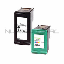 HP 350 NEGRO Y HP 351 XL COLOR PHOTOSMART C4200 C4205 C4210 C4240 REMANUFACTURAD