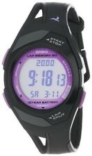 Casio 60-Lap Resin Watch, Chronograph, Date, 4 Alarms, 50 Meter WR, STR300-1C