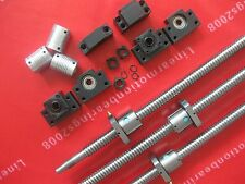 3 lead screws ballscrews RM2005 with  nuts +3set BK/BF15 + couplers CNC router
