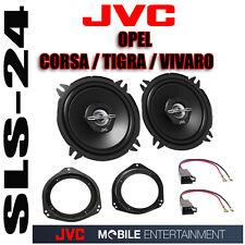 JVC 13cm Koax Front Lautsprecher-Set für OPEL Movano A Facelift 2003-2010
