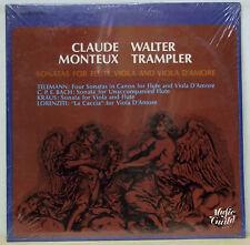 Claude Monteux/Trampler TELEMANN,etc Music Guild SEALED