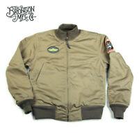 Bronson Repro Taxi Driver Model WW2 Tanker Jacket Men's Military Combat Uniform